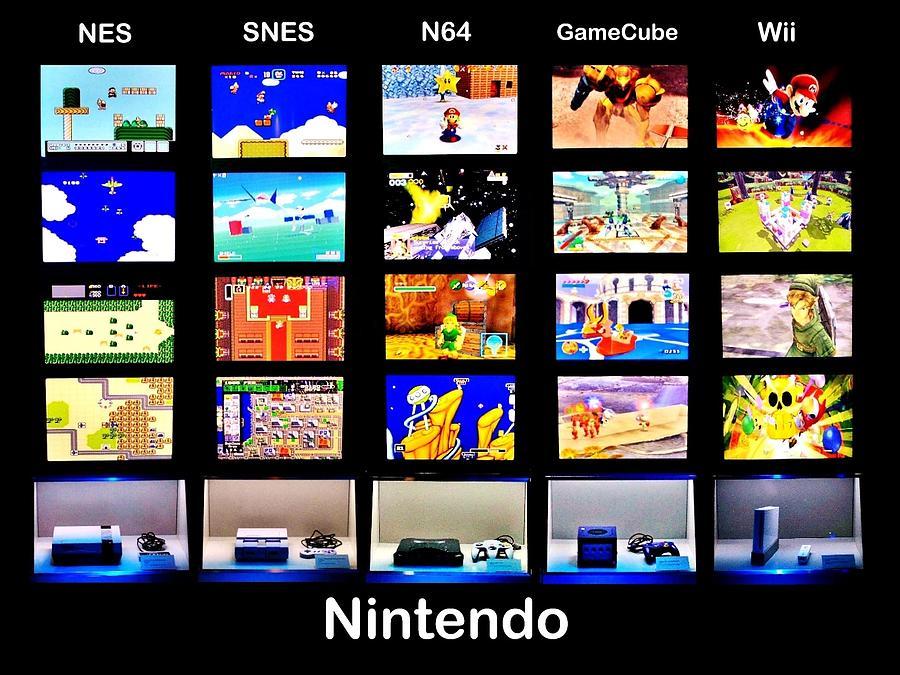 Nintendo Photograph - Nintendo History by Benjamin Yeager