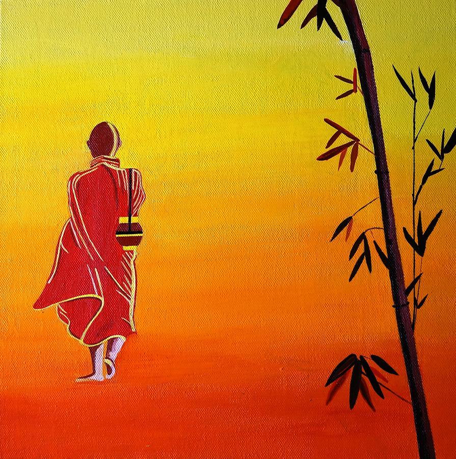 Nirvana Painting by Kirtana Suri