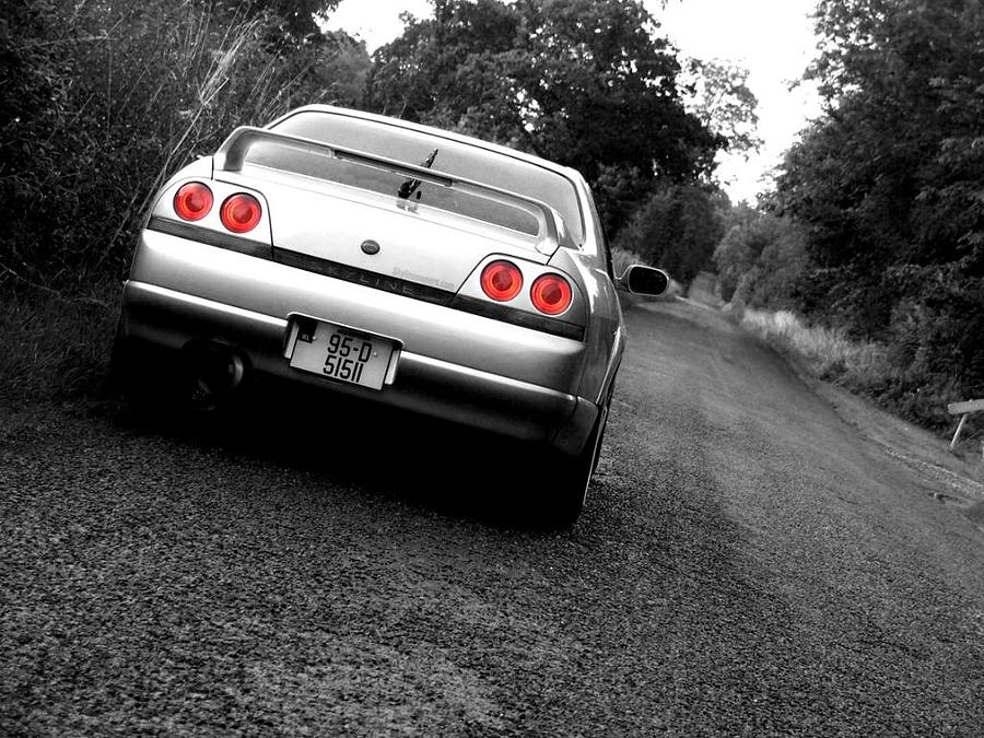 Nissan Skyline Photograph by Eddie Armstrong