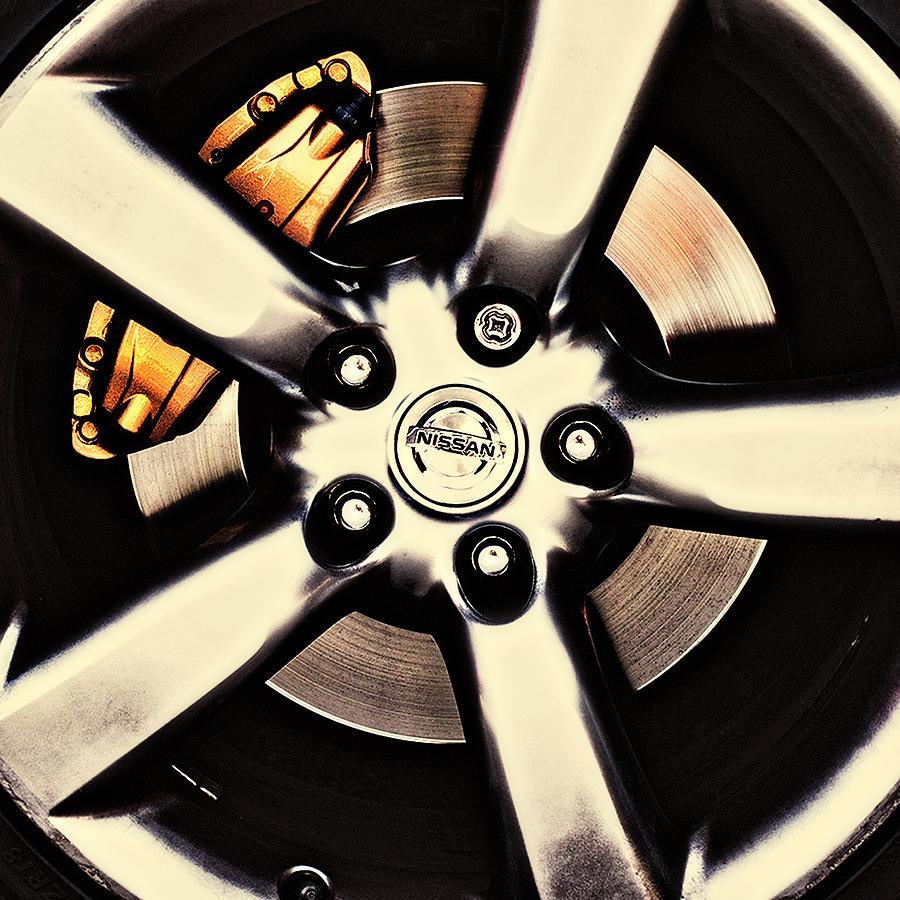 nissan zx wheels 2 by Meirion Matthias