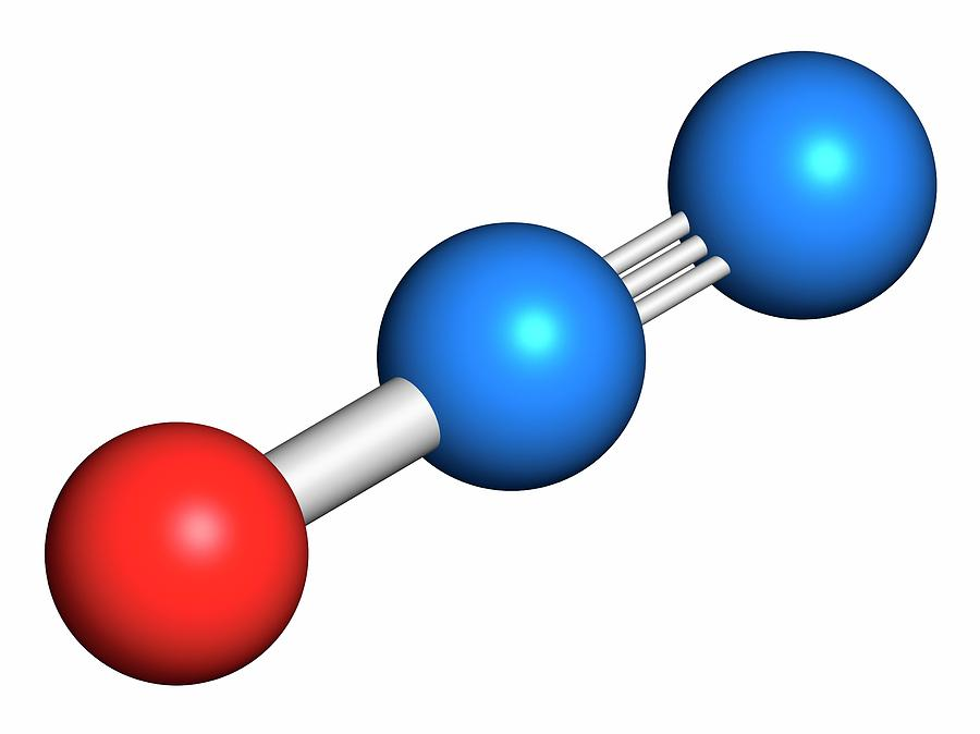 Image result for n2o molecule