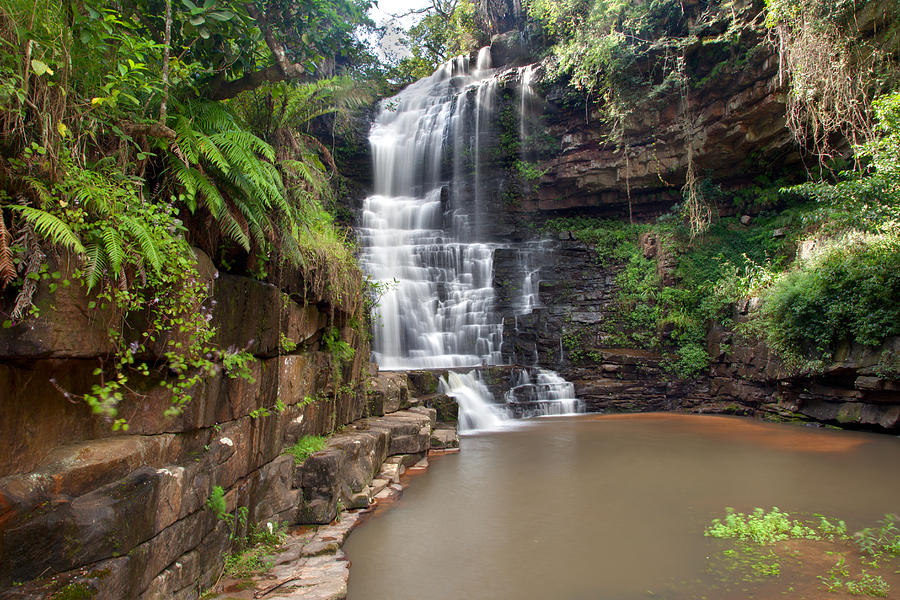 South Africa Photograph - Nkutu Falls - South Africa by Scott Moore