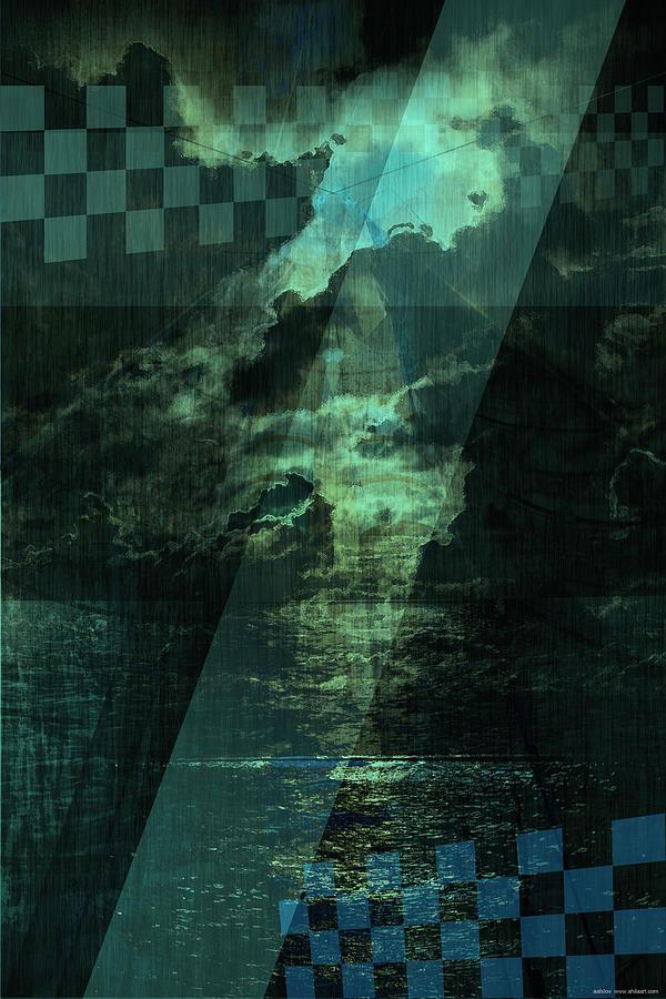 Landscape Digital Art - No 030 by Alexander Ahilov