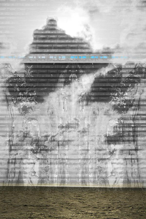 Landscape Digital Art - No. 055 by Alexander Ahilov