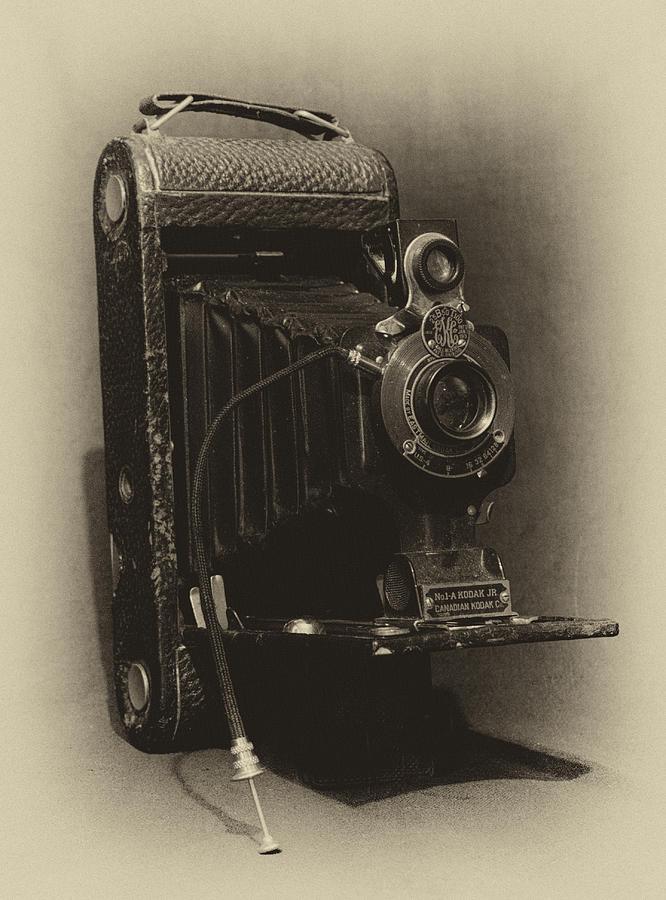 A-1 Photograph - No. 1-a Kodak Jr. by Leah Palmer