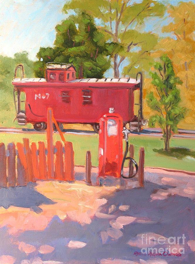 Jamestown Painting - No. 7 by Rhett Regina Owings
