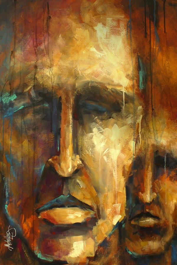 No Choice Painting By Michael Lang