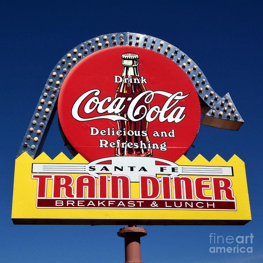 Signs Photograph - No Dinner At The Diner by Mel Steinhauer