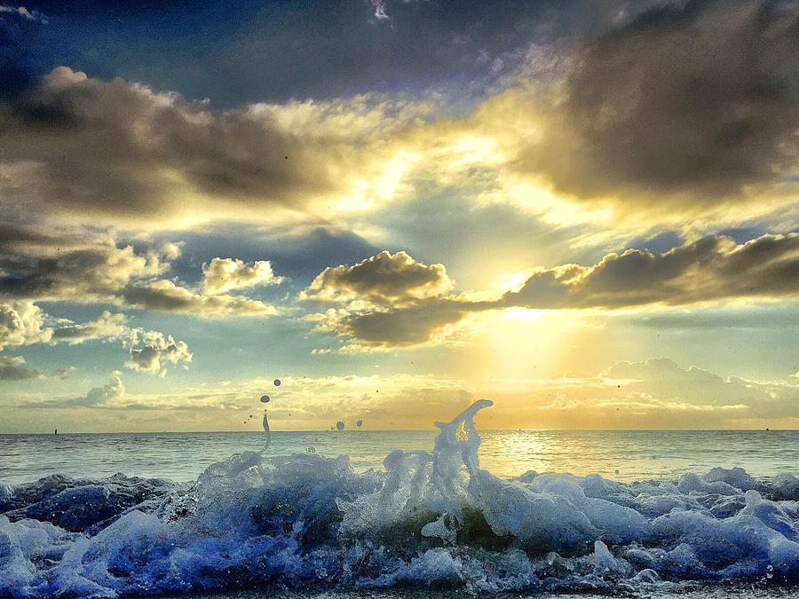 Ocean Photograph - No Eternal Reward... by Andrew Royston