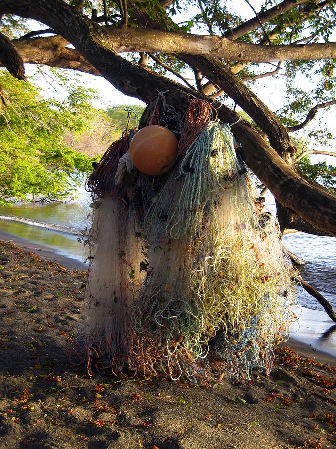 Ometepe Photograph - No Fishing Today Ometepe Island Nicaragua by Kurt Van Wagner