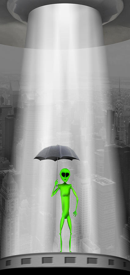 Surrealism Photograph - No Intelligent Life Here by Mike McGlothlen