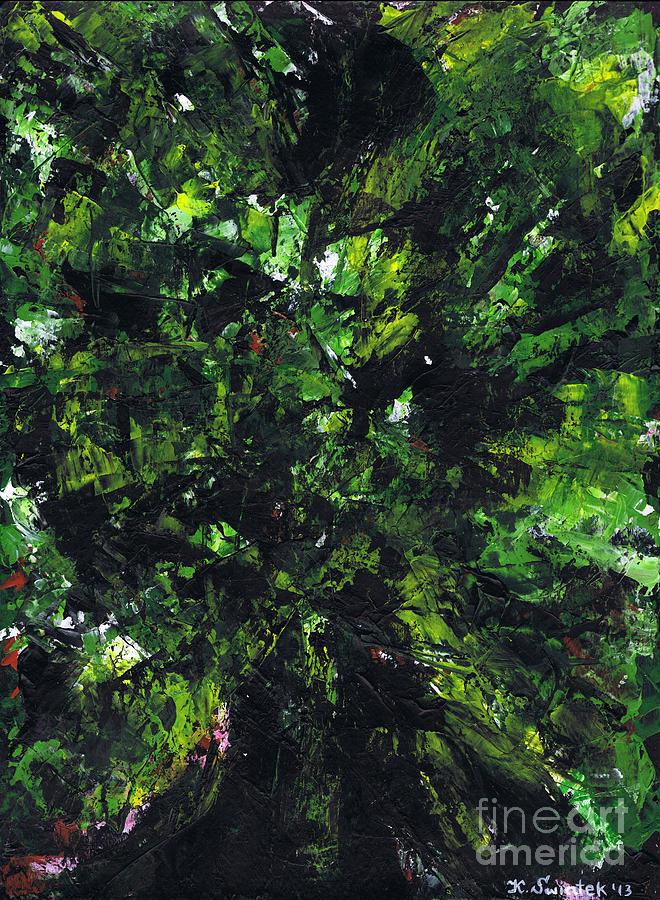 No Leaf Clover Painting - No Leaf Clover - Middle by Kamil Swiatek