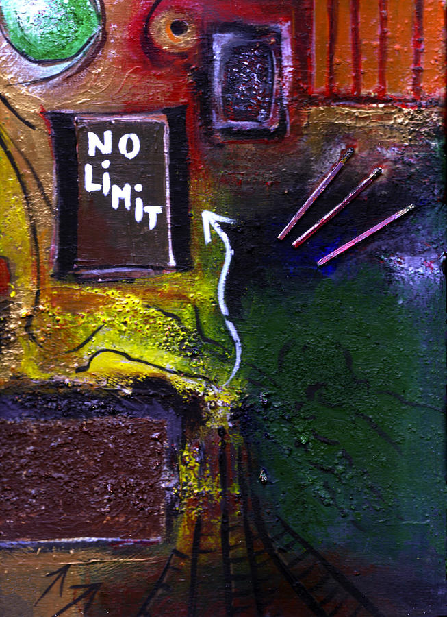 Limits Painting - No Limits by Mirko Gallery