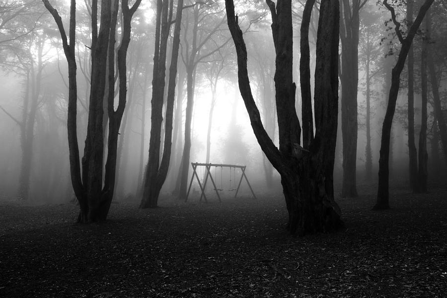 Bw Photograph - No Mans Land by Jorge Maia