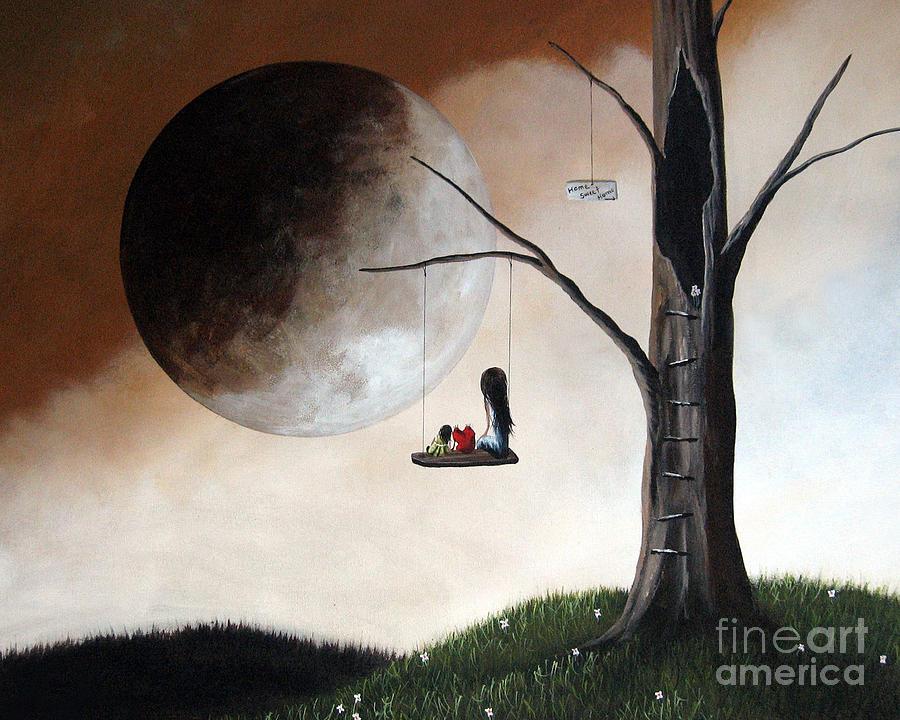Dreams Painting - No Place Like Home By Shawna Erback by Shawna Erback