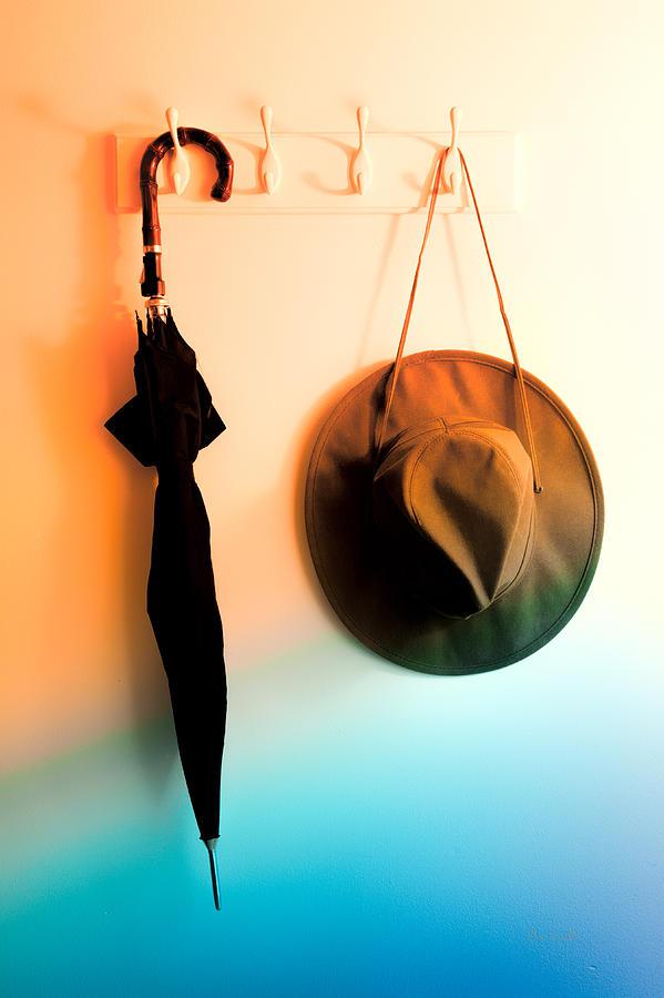 Umbrella Photograph - No Rain Today by Bob Orsillo