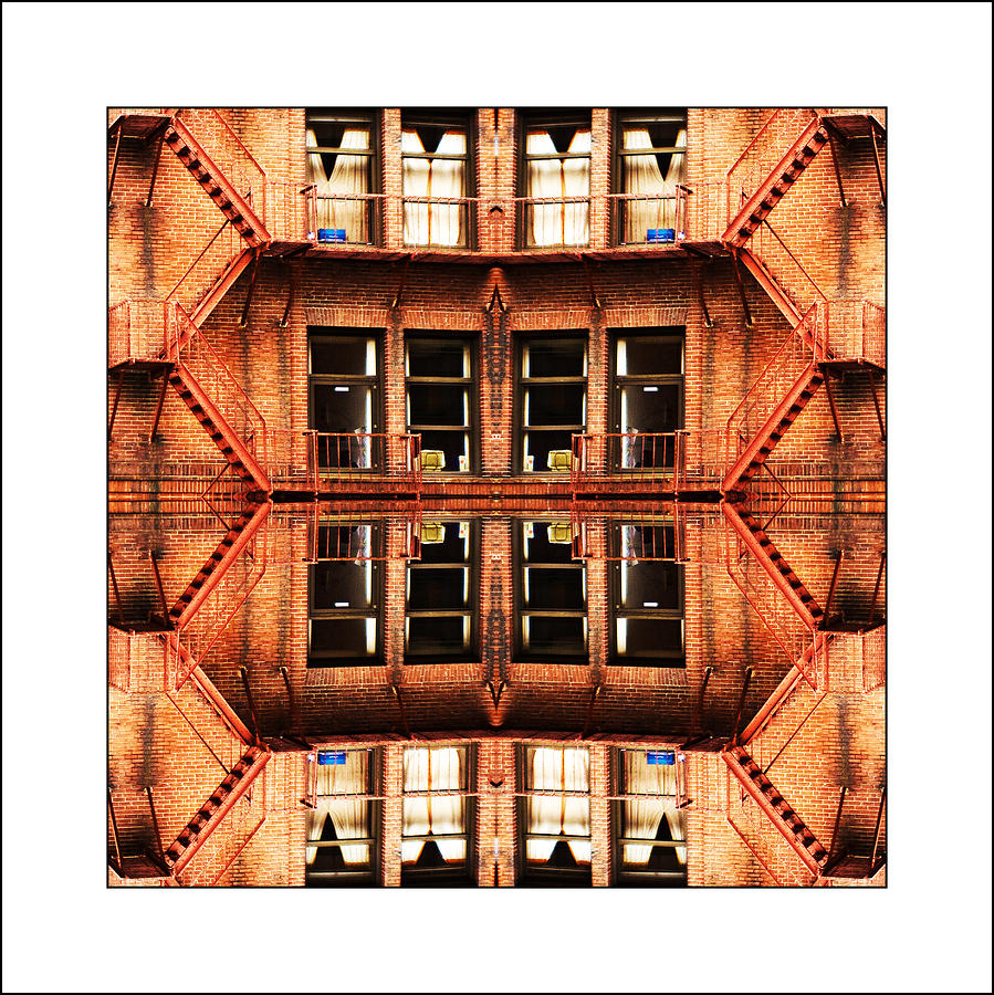 Apartments Photograph - No Way Out by Don Powers