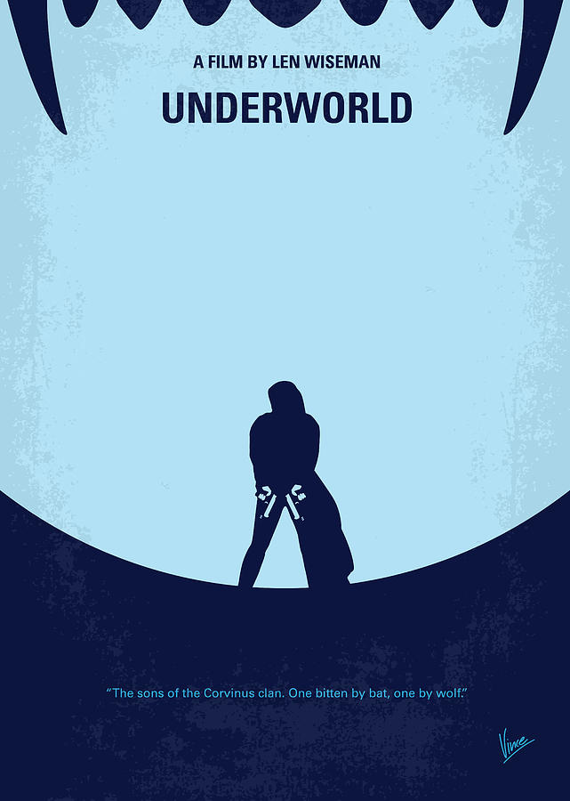 Underworld Digital Art - No122 My Underworld Minimal Movie by Chungkong Art