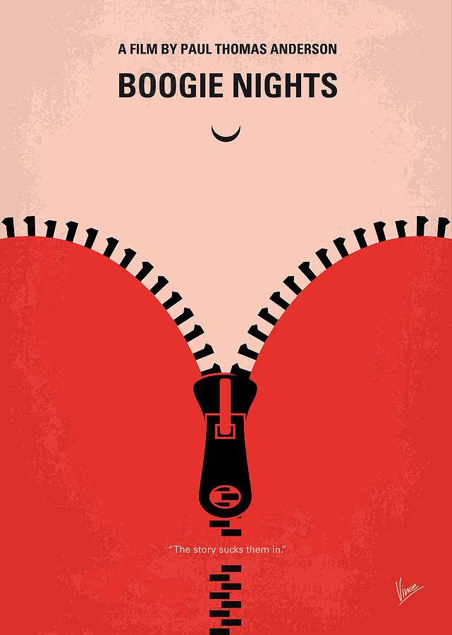 Boogie Digital Art - No167 My Boogie Nights Minimal Movie Poster by Chungkong Art