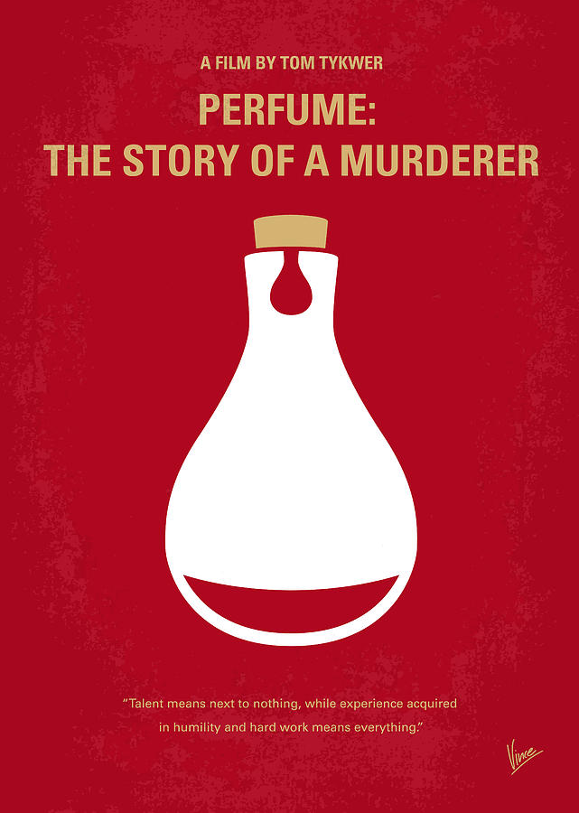 Perfume Digital Art - No194 My Perfume The Story Of A Murderer Minimal Movie Poster by Chungkong Art