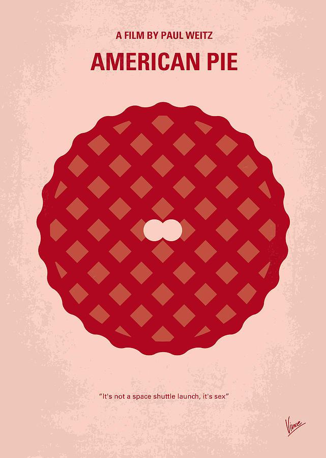 American Digital Art - No262 My American Pie Minimal Movie Poster by Chungkong Art