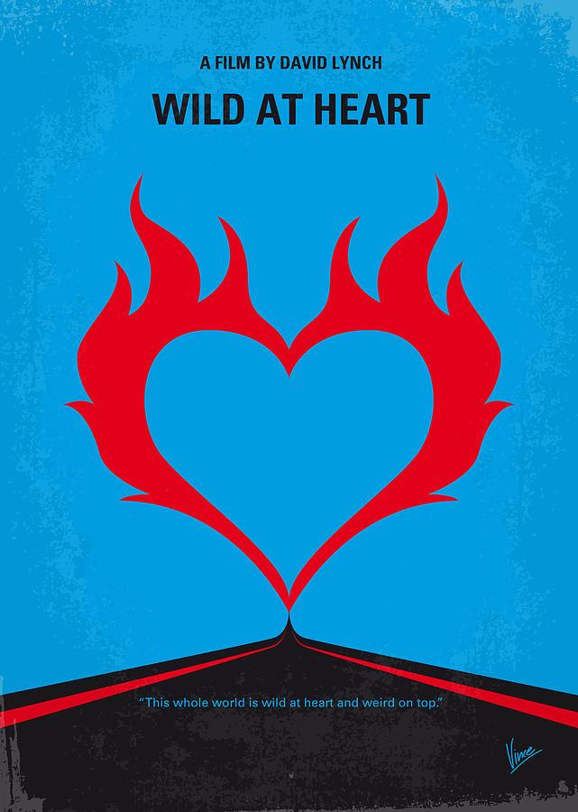 Wild Digital Art - No337 My Wild At Heart Minimal Movie Poster by Chungkong Art