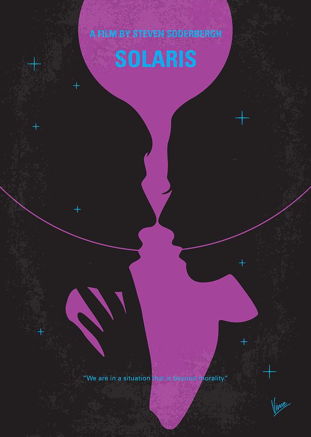 Solaris Digital Art - No385 My Solaris Minimal Movie Poster by Chungkong Art