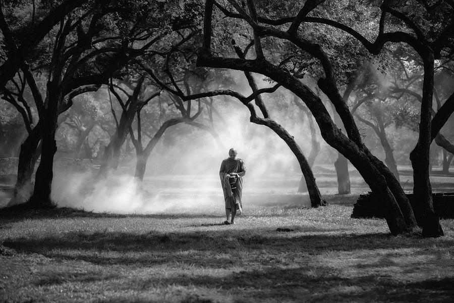 Monk Photograph - No.4 by Adirek M