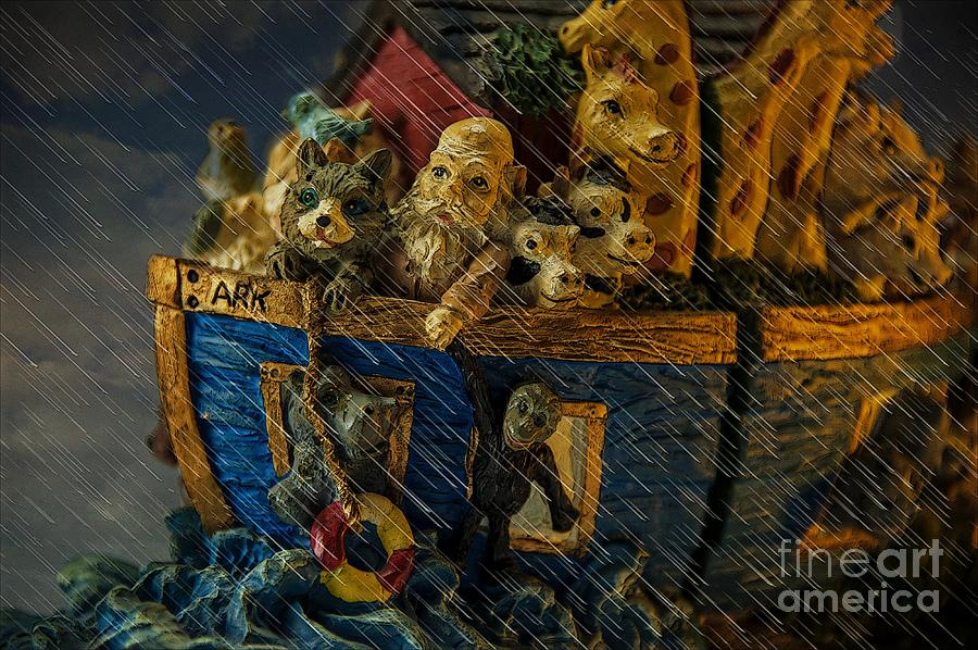 Noah Photograph - Noahs Ark by Donald Davis