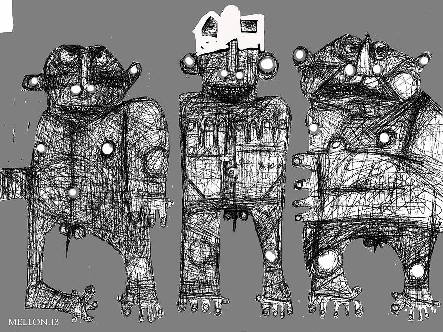 Expressions Digital Art - Noctis No. 6 by Mark M  Mellon