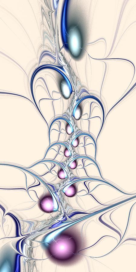 Malakhova Digital Art - Nodes by Anastasiya Malakhova