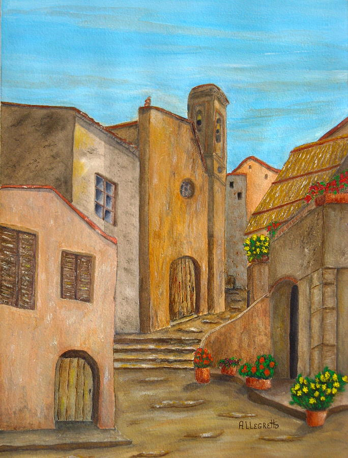Italy Painting - Nola 2 by Pamela Allegretto