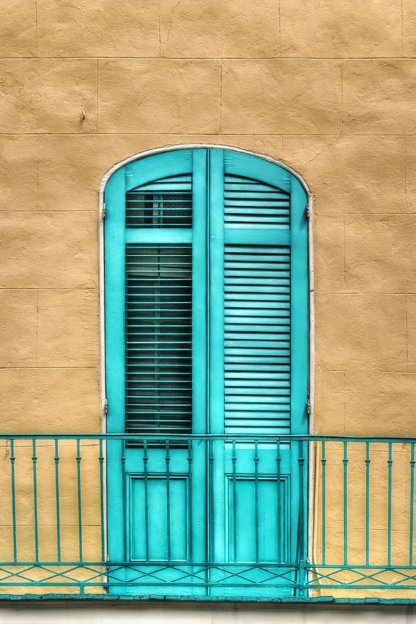 Door Photograph - Nola Balcony by Brenda Bryant