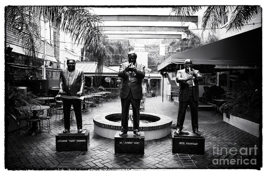 Nola Jazz Players Photograph - Nola Jazz Players by John Rizzuto