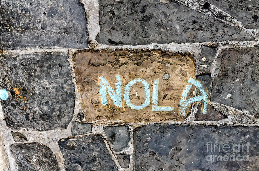 Nola - New Orleans Street Art Photograph
