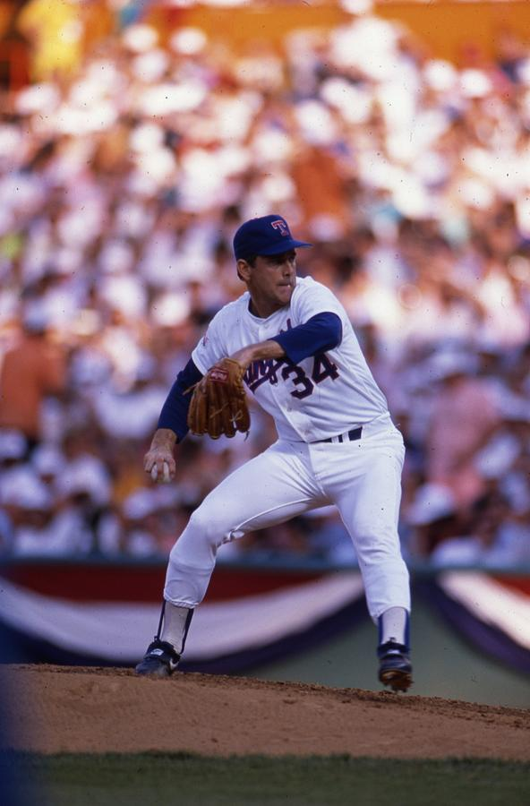 Nolan Ryan  by Retro Images Archive