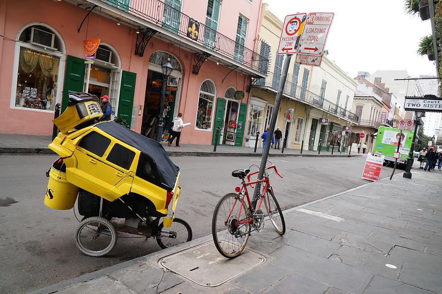 New Orleans Photograph - Nolatron Parked by Chuck Johnson