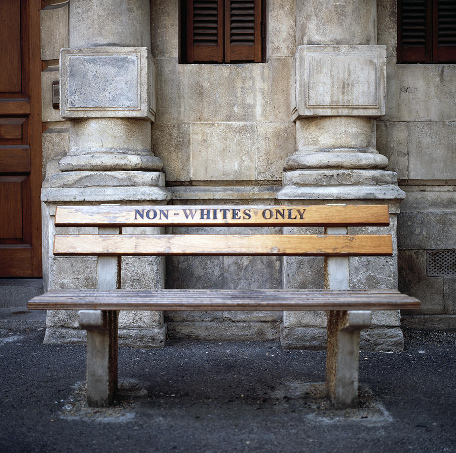 Cape Town Photograph - Non Whites Only by Shaun Higson
