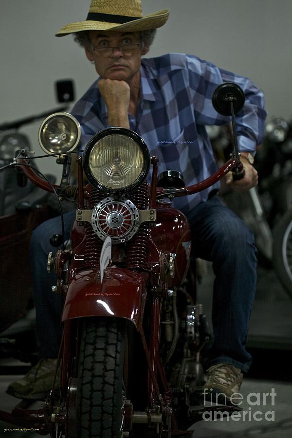Photographs Photograph - Nonconformist - Easy Rider. Doctor Faustus.  by  Andrzej Goszcz