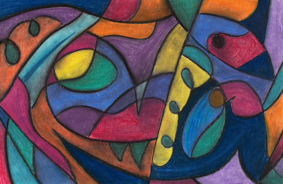 Abstract Pastel - None by Matt Howe
