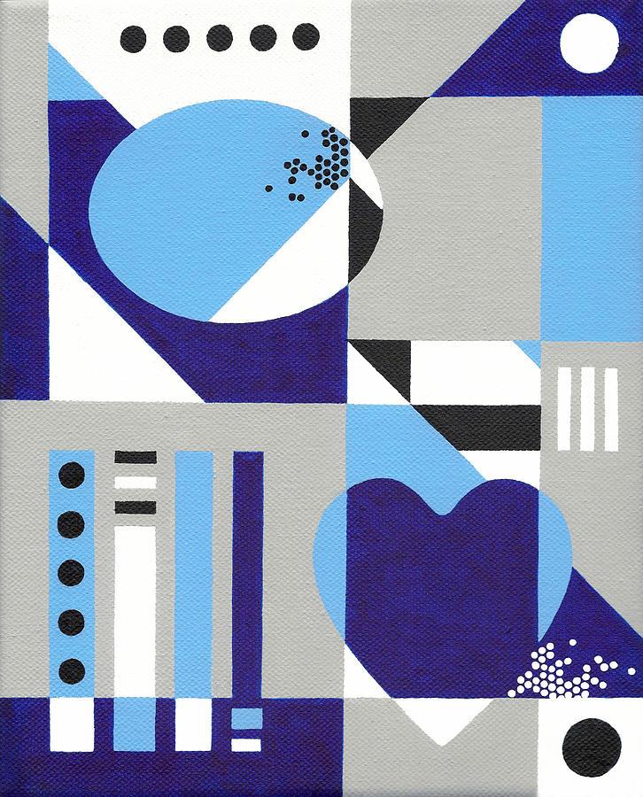 Heart Painting - Nonpareil by Lance Bifoss
