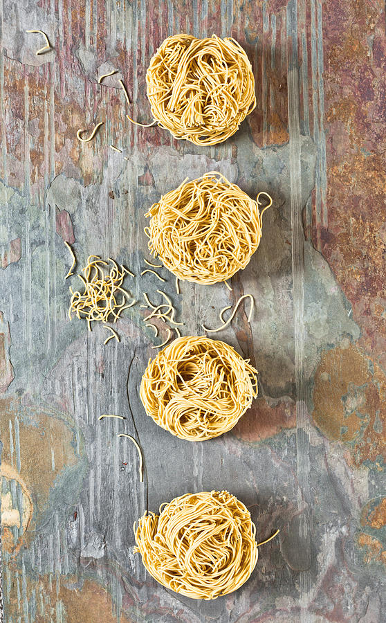 Asian Photograph - Noodles by Tom Gowanlock