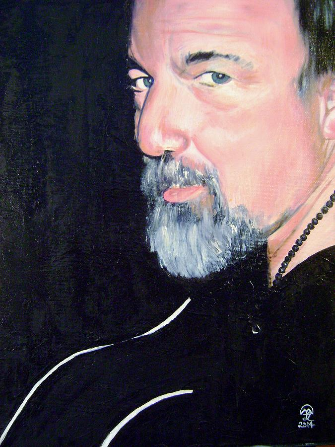 Man Painting - Norm by Therese Legere