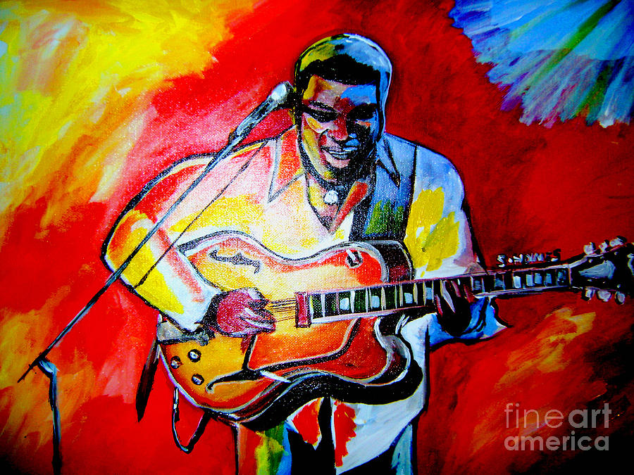 Celebrities Painting - Norman Brown  by Sidney Holmes