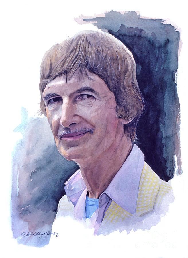 Norman Mclaren Painting - Norman Mclaren by David Lloyd Glover