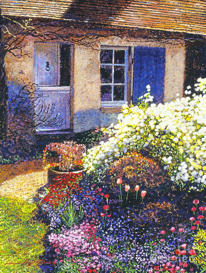 Impressionism Painting - Normandy Spring by David Lloyd Glover
