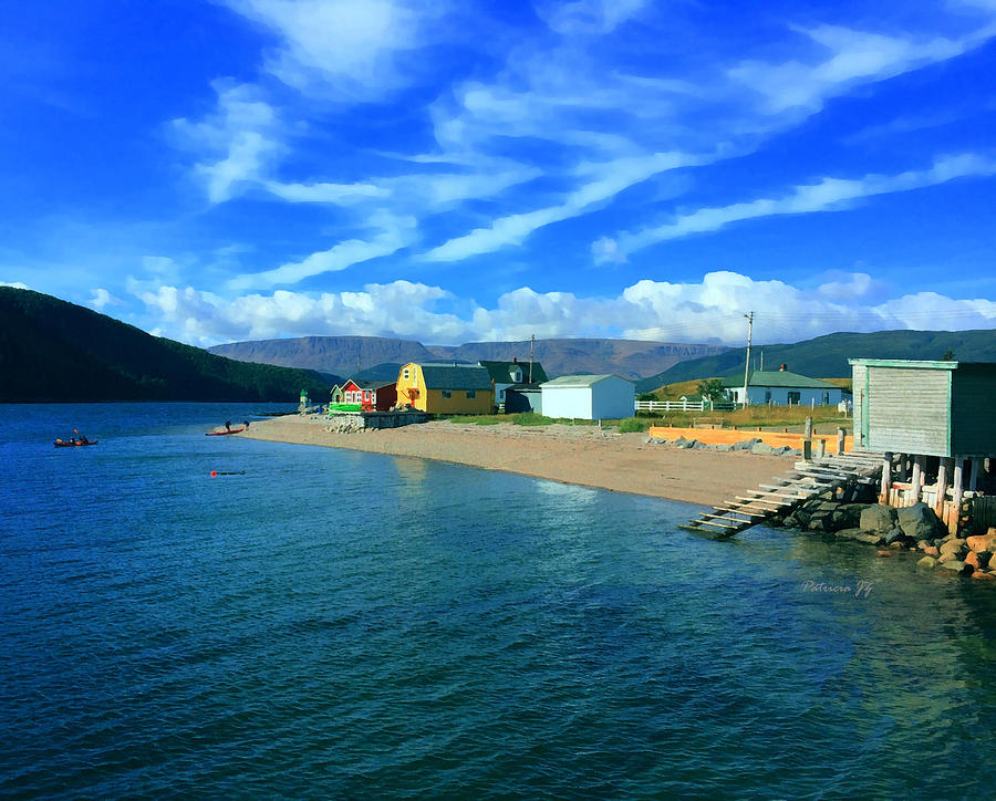 Norris Point Newfoundland Photograph