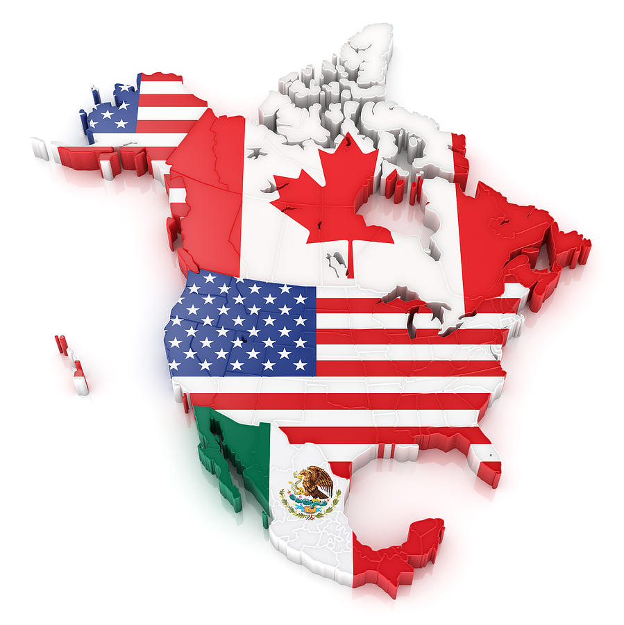 North America Map With Flags Of Usa Canada And Mexico by Scibak on united states flag border, united states flaf, american flag, united states flag soccer, united states flag with eagle, united states flag drawing, chiapas state flag, united states america flag, 1830 united states flag, united states flag 1861, united states flag history, londonderry ireland flag, united states national flag, united states flag background, mexican flag, united states flag waving, united states flag texture, united states post flag, united states flag code, united states army flag,