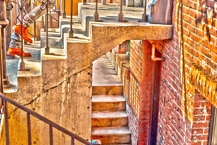 Urban Abstract Photograph - North By Northwest By Denise Dube by Denise Dube