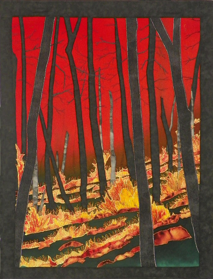 North Carolina Forests Under Fire II by Jenny Williams